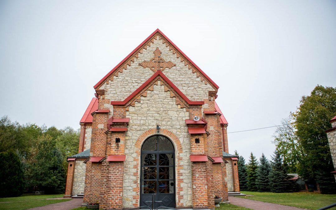 Tegoroczne prace w kościele.