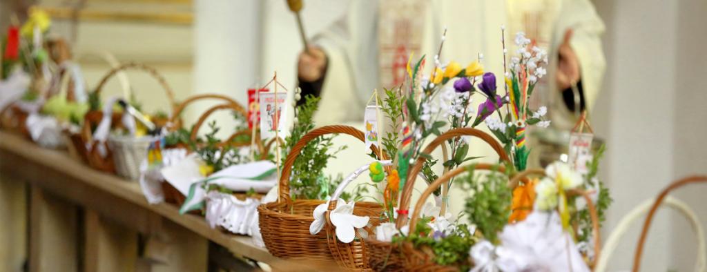 Modlitwa na rozpoczęcie świątecznego spotkania wielkanocnego